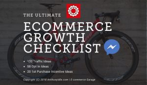 Ulitmate eCommerce Growth Ideas Checklist